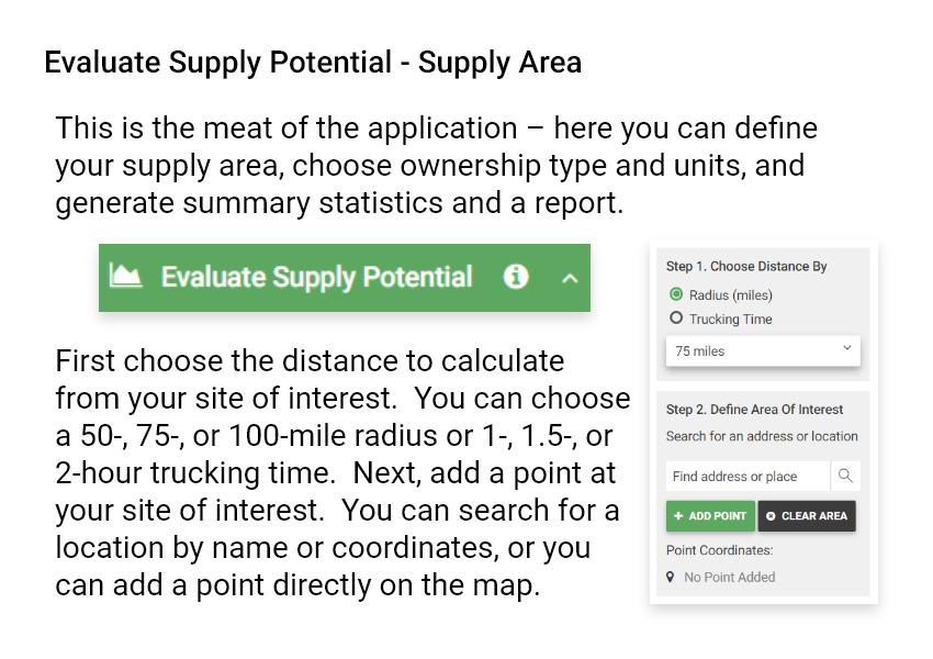 Timber Supply Analysis